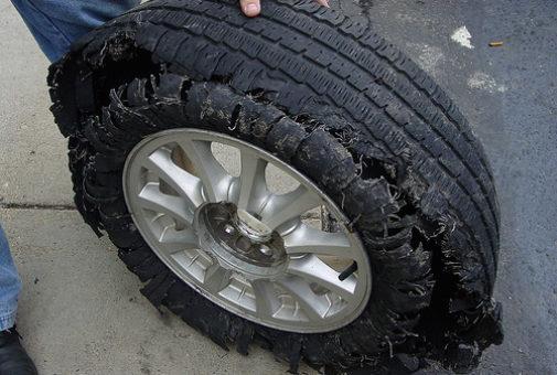 4849351520_b1a3d2dcfb_tire-damage2