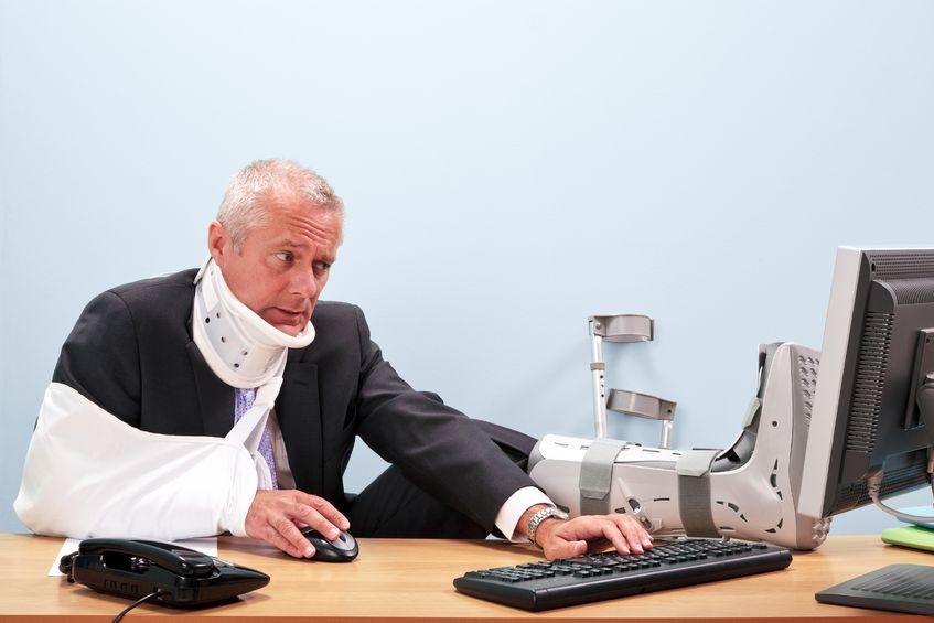 Absicherung bei Unfällen in der Freizeit und am Arbeitsplatz