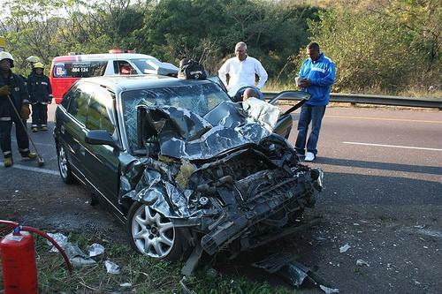 car accident Foto