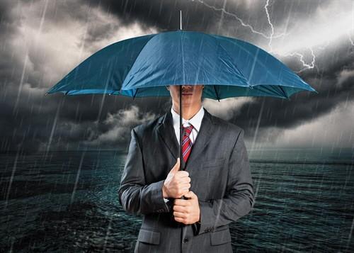 Geschützt vor Wind und Wetter