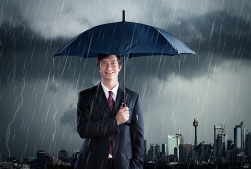 Gut versichert gegen Sturmschäden