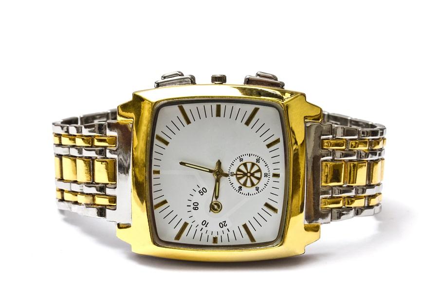 Armbanduhr Gold - Hausratversicherung