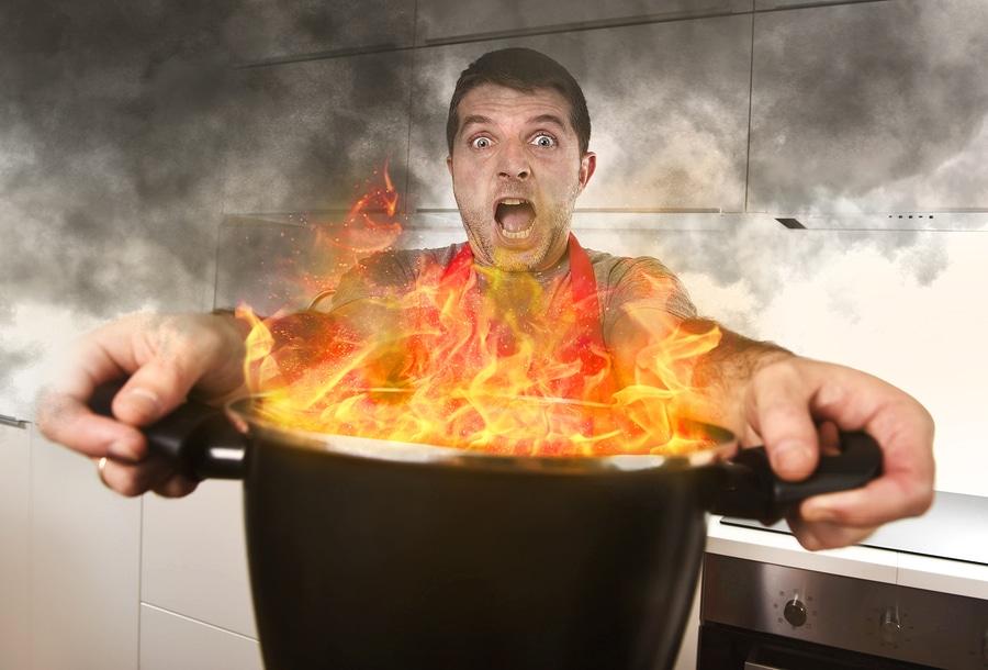 Wohnungsbrand - Hausratversichung