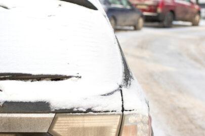 Auto bei Schnee Haftung