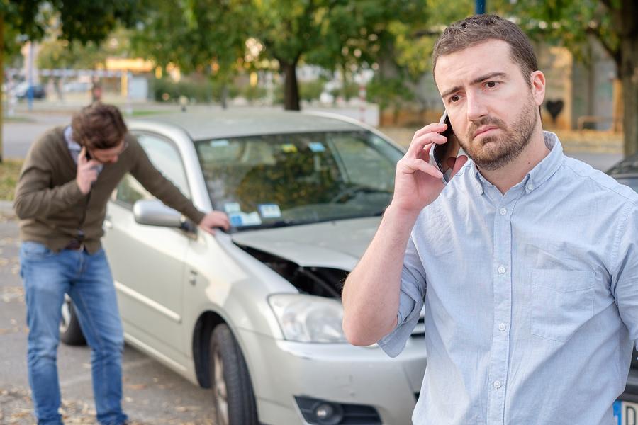 Unfallmeldung an Versicherung