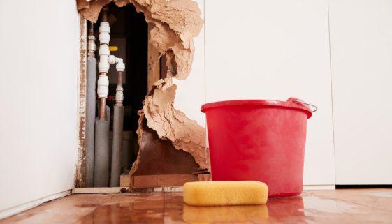 Wohngebäudeversicherung - Leistungsfreiheit bei Wasserschaden