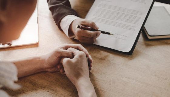 Versicherungsnehmerunterschrift – Erhalt sämtlicher Informationen zum Versicherungsprodukt
