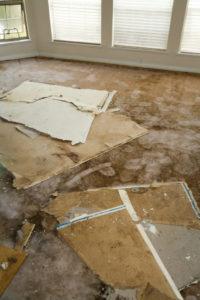 Wohngebäudeversicherung - Durchnässungsfolgeschaden