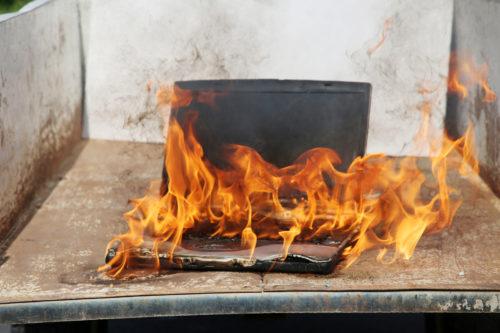 Brandschaden - Haftpflichtversicherung – fahrlässige Brandverursachung durch Eigentümer
