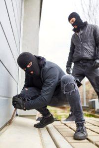 Eingruach in Garagen Hausratversicherung