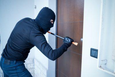 Firmen-Inhaltsversicherung - Bild eines Einbruchsdiebstahls