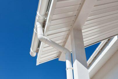 Wohngebäudeversicherung - innenliegenden Dachrinne