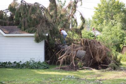 Gebäudeversicherung auf Ersatz für Sturmschäden