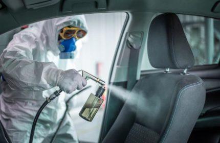 Unfallregulierung: Fahrzeugdesinfektion in Corona Zeiten
