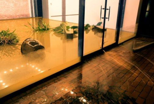 Immobilien- bzw. Betriebsinhaltsversicherung - Deckungsschutz bei Wasserschaden