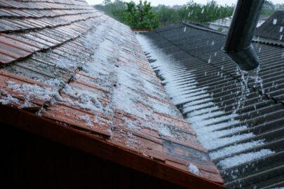 Wohngebäudeversicherung - Reparaturkosten nach Hagelschäden