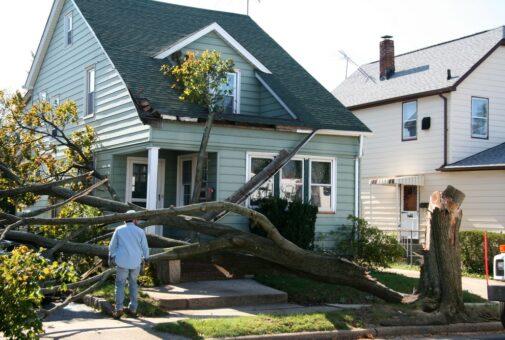 Gebäudeversicherung - Sturmschäden – notwendige Beseitigungsmaßnahmen
