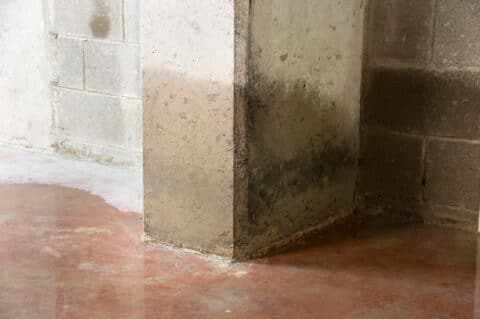 Wohngebäudeversicherung - Überflutung eines Kellers mit eindringendem Grundwasser