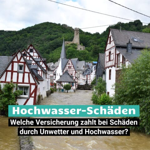 Unwetter Hochwasser Katastrophe in Monreal, Deutschland