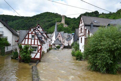 Monreal,,Germany,-,07,15,2021:,Huge,Flood,Of,The