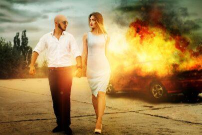 Kaskoversicherung - Fahrzeugschaden durch Eigenbrandstiftung