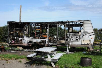 Kfz-Kaskoversicherung – durch Brand zerstörten Wohnwagen