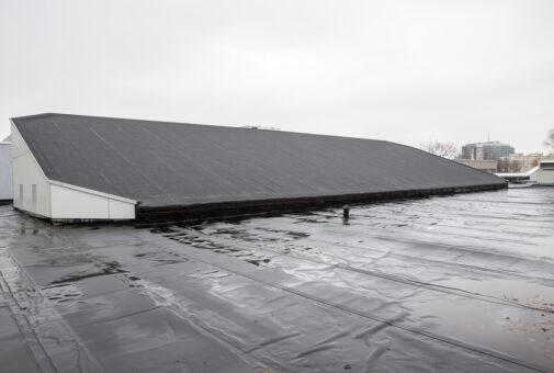 Gebäudeversicherung - Sturmschadennachweis an Flachdach